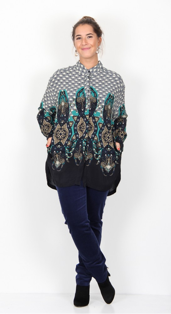 Masai Clothing Inessa Blouse Orion