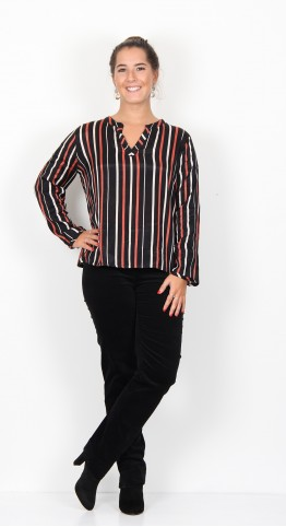 Masai Clothing Bellis Top Red Ochre