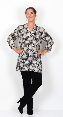 Masai Clothing Gralia Tunic Black