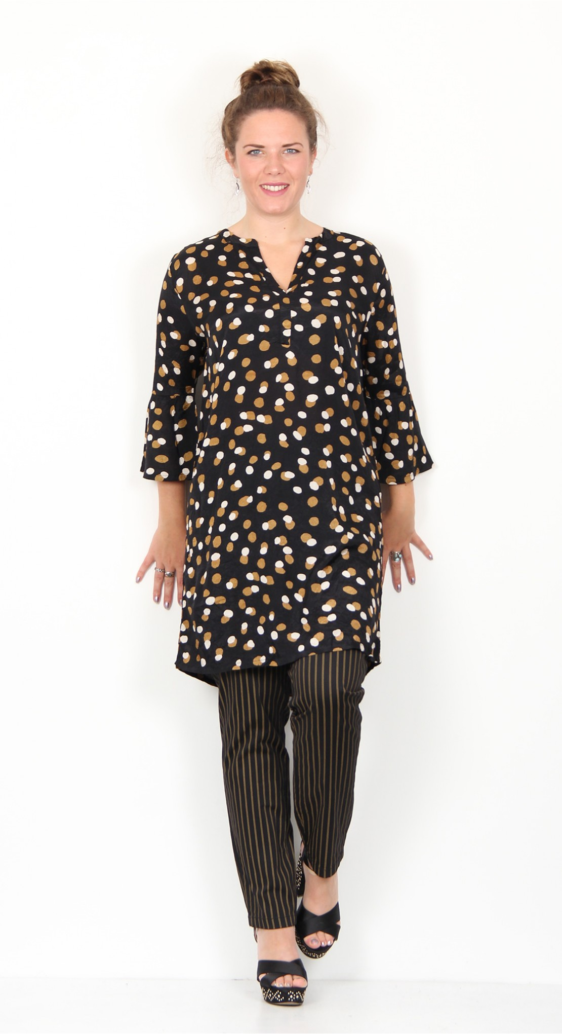 new product online for sale order online Masai Clothing Gusta Tunic Ginger Dots