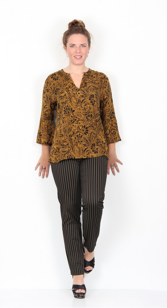 Masai Clothing Bell Top Ginger