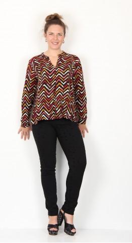 Masai Clothing Benta Top Rouge