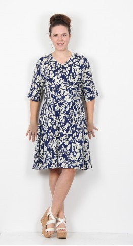 Masai Clothing Naby Dress Medieval Blue