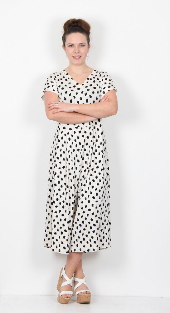 Masai Clothing Nabala Jumpsuit Cream Black