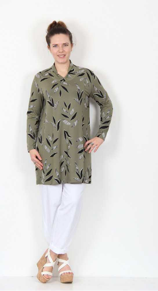 Masai Clothing Gabriela Tunic Olive