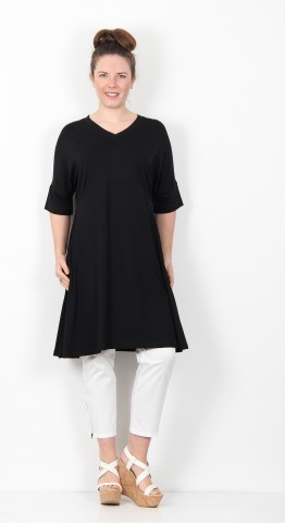 Masai Clothing Naby Tunic Dress Black