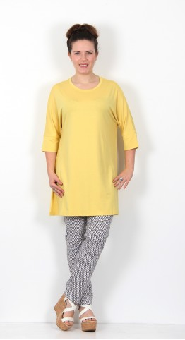 Masai Clothing Gae Tunic Cream Gold