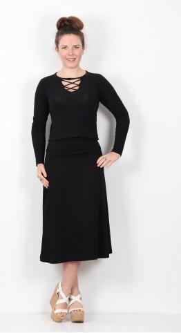 Masai Clothing Saba Skirt Black