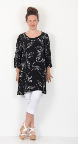 Masai Clothing Garnetta Tunic Black