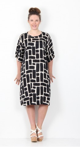 Masai Clothing Nabi Dress Black