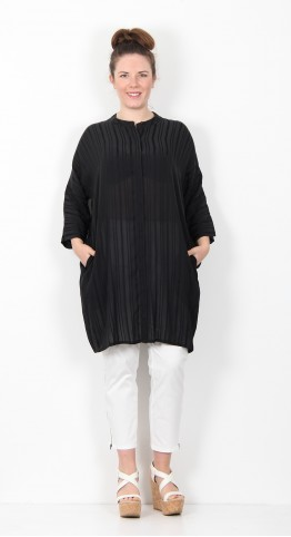 Masai Clothing Losetta Tunic Dress Black