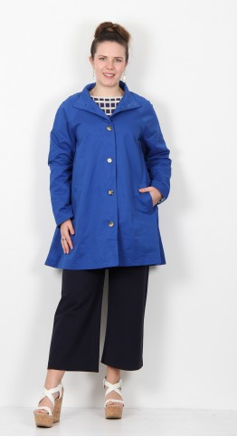 Masai Clothing Teresa Coat Royal Blue