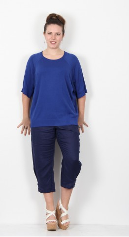 Masai Clothing Fatina Top Royal Blue