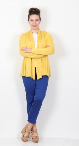 Masai Clothing Larisi Cardigan Cream Gold
