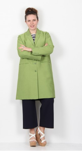 Masai Clothing Tura Coat Peridot