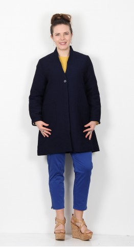 Masai Clothing Tennie Coat Navy