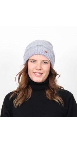 Miss Sparrow Poodle Beannie Hat Grey