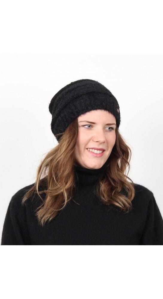 Miss Sparrow Poodle Beannie Hat Black