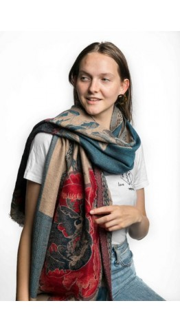 Miss Sparrow Faye Scarf Navy