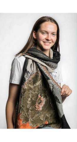 Miss Sparrow Faye Scarf Black
