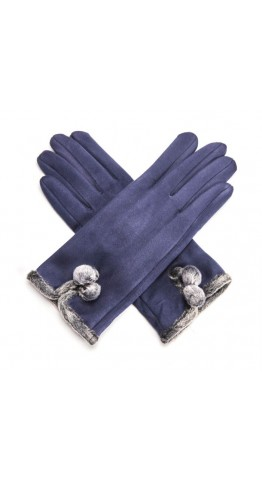 Miss Sparrow Mel Gloves Navy
