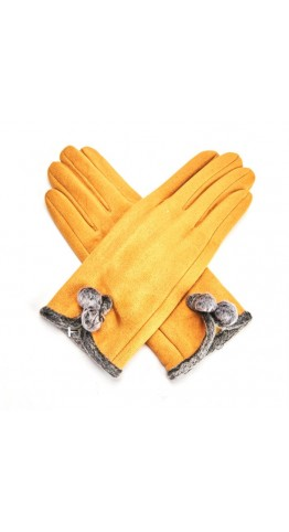 Miss Sparrow Mel Gloves Mustard
