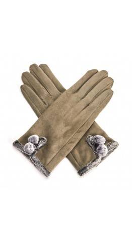 Miss Sparrow Mel Gloves Olive
