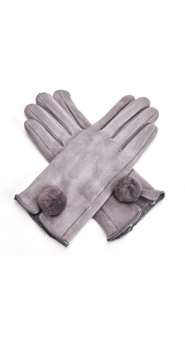 Miss Sparrow Joanna Gloves Grey