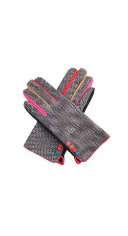Miss Sparrow Liz Gloves Black