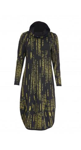 Naya Jaquard Dress Olive