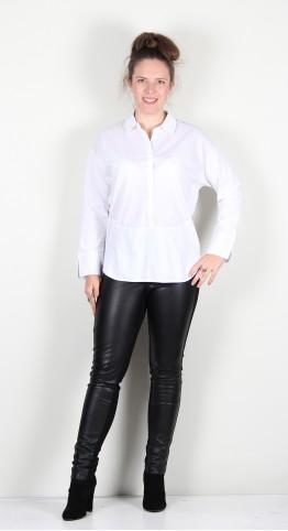 Naya Shirt Jersey Hem White