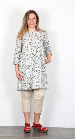 Two Danes Thorid Tunic/Dress Grey Sand
