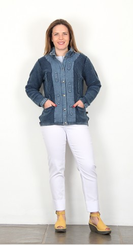 Original Blues Domenica Jacket Indigo Vintage
