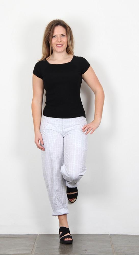 Oska Clothing Carpa 913 Trouser White