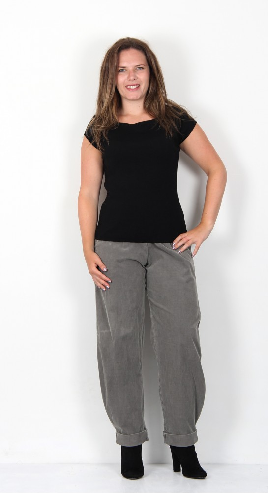 Oska Clothing Dixee 218 Cord Trousers Cashmere