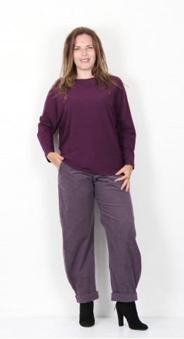 Oska Clothing Maarit Shirt 906 Berry