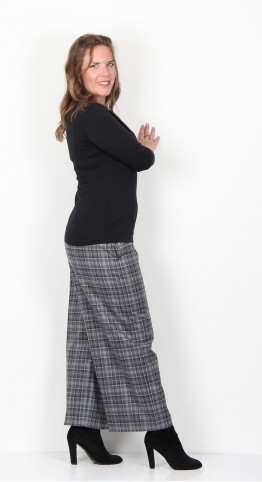 Oska Clothing Eltja 922 Trousers Flannel Check