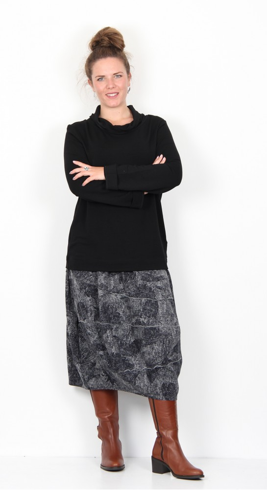 Oska Clothing Levina Pullover 953 Black