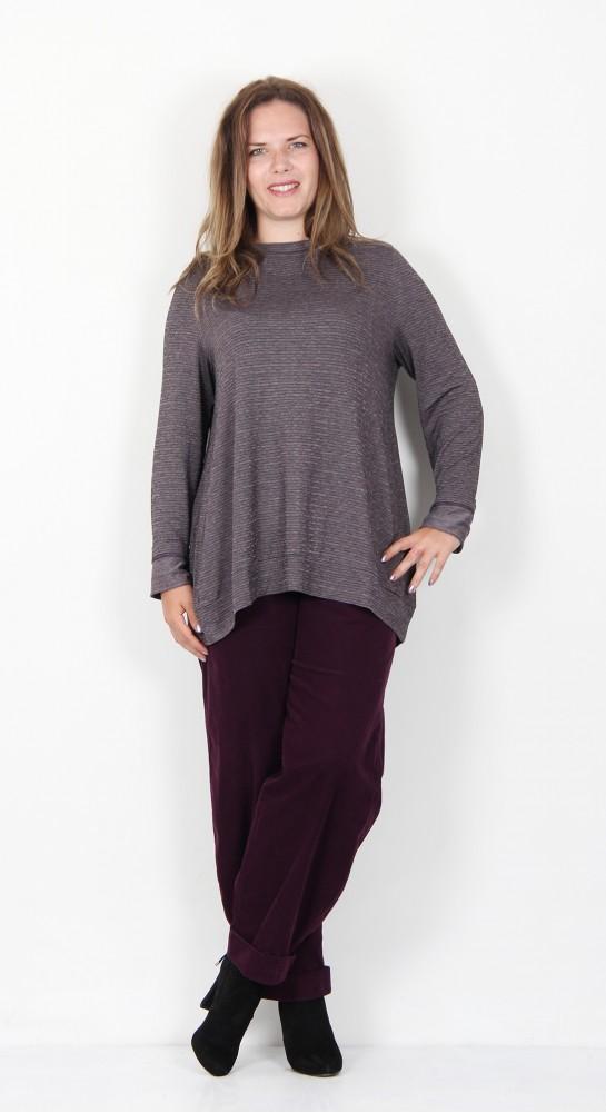 Oska Clothing Mariba Shirt 916 Grape