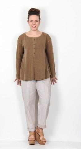 Oska Clothing Pullover Hellena 046 Savanna