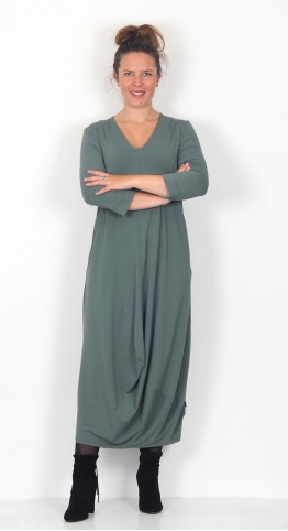 Oska Clothing Dress Botilda 003 Hemp