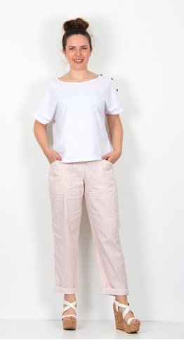 Oska Clothing Trousers Ellin 034 wash Calendula