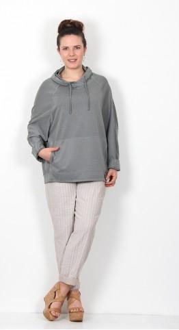 Oska Clothing Pullover Herdis 048 Basalt