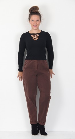 Oska Clothing Trousers Roxibi 020 Tea