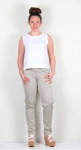 Oska Clothing Trousers Ropa 107 Cotton Superstretch Colour Linen
