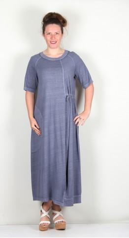 Oska Clothing Dress Nelina 118 Sphere / Hemp-Organic-Cotton-Blend