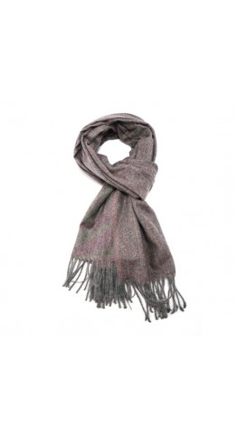 Pink Rooster Heather Marl Scarf Mauve