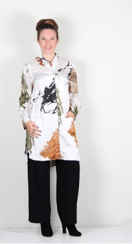 Q-Neel Gwenda Shirt White
