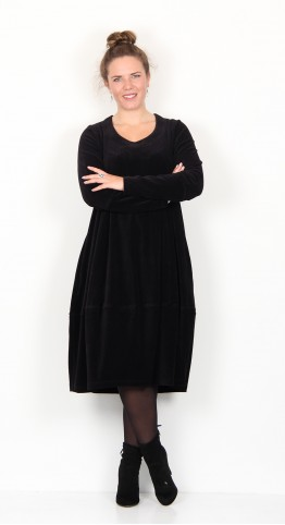 Ralston Bimse Corduroy Dress Black