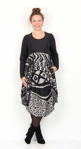 Ralston Utas African Dress Black